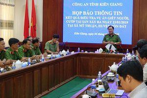 Thông tin về bắt nghi can trong vụ án giết người tại Kiên Giang