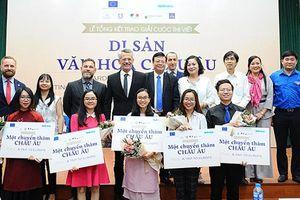 Năm bạn trẻ Việt Nam giành giải thưởng 'Di sản văn hóa châu Âu'