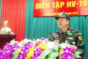 Học viện Biên phòng khai mạc diễn tập HV-19