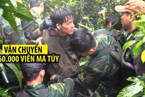 Nghi phạm người Lào bị bắt khi cắt rừng vận chuyển 60.000 viên ma túy