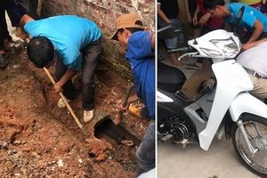 Giải cứu nam thanh niên 'ngáo đá' mắc kẹt trong cống gần 1 ngày