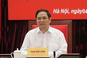 Ông Phạm Minh Chính: Dứt khoát không dùng người 'chạy chức'