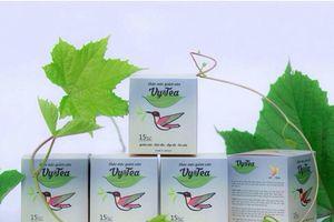 Thu hồi Trà thảo mộc Vy & Tea chứa chất cấm