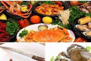 Ăn hải sản cần tránh xa những bộ phận này kẻo bị ngộ độc