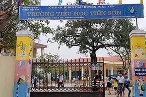 Bộ Giáo dục xác minh thông tin giáo viên dâm ô học sinh nữ ở Bắc Giang