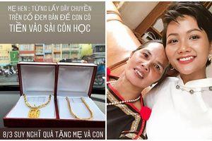 Ngày 8/3 cận kề, H'Hen Niê mua dây chuyền vàng tặng mẹ nhưng ý nghĩa đằng sau mới khiến nhiều người cảm động