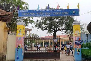 Công an vào cuộc xác minh vụ thầy giáo dâm ô 13 học sinh tiểu học ở Bắc Giang