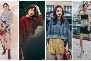 Dàn sao Hoa - Hàn đổ bộ Paris Fashion Week: Park Shin Hye đẹp đảo điên - Trương Gia Nghê gợi cảm đến từng centimet