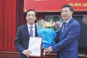 Ông Nguyễn Tiến Vụ được bổ nhiệm làm Tổng Biên tập Báo Bắc Ninh