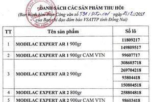 Cảnh báo 12 sản phẩm sữa nhiễm Salmonella poona