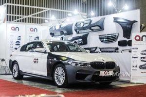 BMW 5-Series 2019 khoác bodykit của M5 ra mắt khách hàng Việt