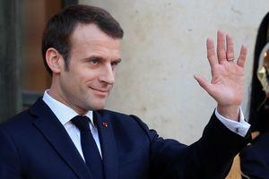 Ông Macron bắt đầu chiến dịch bầu cử châu Âu trên truyền hình Italy