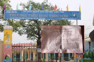 Bị tố dâm ô 13 học sinh tiểu học ở Bắc Giang: Thầy giáo tường trình gì?