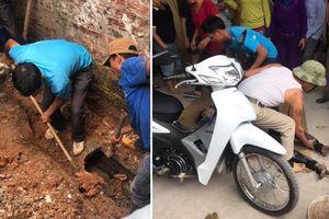 Thực hư đi ăn trộm bị phát hiện, thanh niên chui vào cống chạy trốn rồi mắc kẹt gần 10 giờ