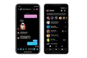 Cách kích hoạt chế độ màu tối trên Facebook Messenger