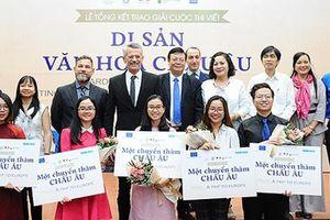 5 bạn trẻ Việt Nam được vinh danh tại Cuộc thi viết 'Di sản văn hóa châu Âu'