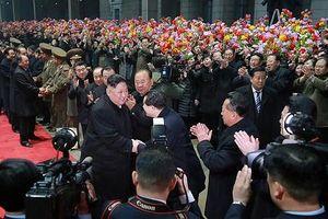Chủ tịch Triều Tiên Kim Jong-un về đến Bình Nhưỡng