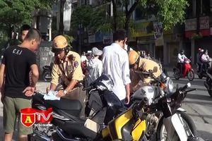Xử lý nghiêm cán bộ, công chức tham gia giao thông không đội mũ bảo hiểm