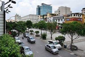 Lịch cấm tất cả phương tiện lưu thông qua đường Nguyễn Huệ