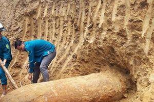 Nghệ An: Phát hiện quả bom còn sót lại trong chiến tranh