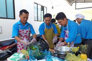 Hậu Giang: Gần 200 đoàn viên tham gia 'Quý ông vào bếp khéo tay'