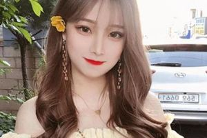 Hot girl Hàn Quốc có làn da trắng đến khó tin có thật