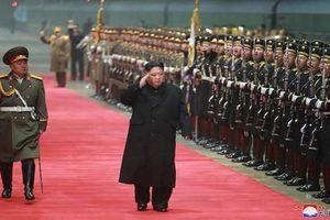Hình ảnh đầu tiên Chủ tịch Kim Jong-un về đến Bình Nhưỡng