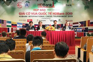 Sức hút giải cờ vua quốc tế HDBank 2019