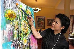 Họa sỹ Văn Dương Thành - người phụ nữ thông qua hội họa mang tâm hồn Việt đến với thế giới