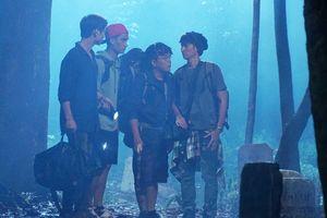 Huy Khánh, Mạc Văn Khoa trổ tài đọc rap giữa nghĩa địa trong phim 'Lật Mặt 4'