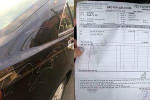 Rạch xe dằn mặt ô tô đỗ chắn cửa: Văn hóa trả đũa đáng xấu hổ