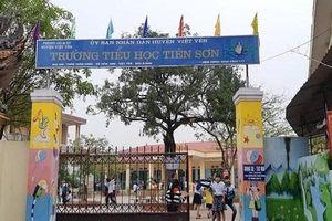Tin mới nhất vụ thầy giáo bị tố dâm ô 13 học sinh ở Bắc Giang: Lấy lời khai những người liên quan