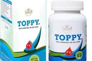 Ngừng sản xuất và thu hồi sản phẩm hỗ trợ tiểu đường Thảo dược Toppy