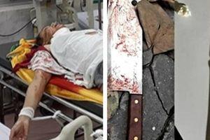 Thầy cúng sát hại cả nhà hàng xóm ở Nam Định đang nguy kịch