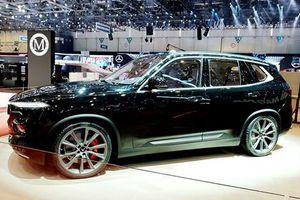 Cận cảnh VinFast Lux phiên bản đặc biệt tại Geneva Motor Show 2019