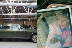 Xe bọc thép chở Công nương Diana được bán đấu giá từ 26.000 USD