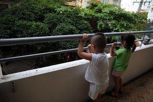 An toàn cho trẻ em ở chung cư: Đừng phó mặc cho trời!