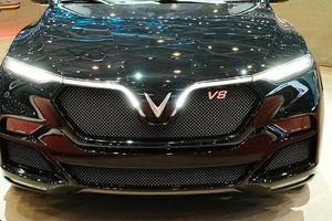 Hình ảnh VinFast Lux V8 tại Geneva Motor Show bất ngờ lộ diện