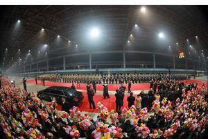 Triều Tiên long trọng chào đón Chủ tịch Kim Jong-un kết thúc chuyến công du Việt Nam