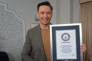 Diễn viên kỳ cựu được lưu danh vào sách kỷ lục Guinness