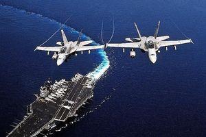 Hai tiêm kích hạm của Mỹ đâm nhau trên bầu trời