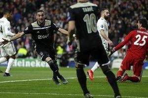 Thắng 'hủy diệt', Ajax biến Real Madrid thành cựu vương