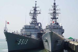 Hai tàu hải quân Nhật Bản cập cảng Đà Nẵng