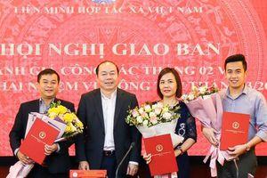Điều động, bổ nhiệm nhân sự Liên minh HTX Việt Nam
