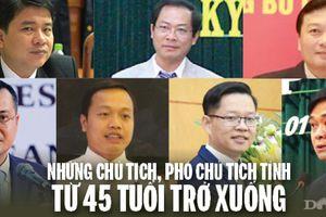Infographic: Những Chủ tịch, Phó Chủ tịch tỉnh từ 45 tuổi trở xuống