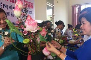 Sôi nổi hoạt động kỷ niệm ngày Quốc tế Phụ nữ 8-3
