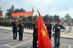 Sư đoàn 317 đón nhận Huân chương Bảo vệ Tổ quốc hạng Nhì