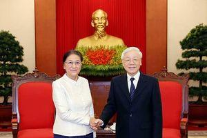 Nâng cao hiệu quả hoạt động hai Quốc hội Việt, Lào