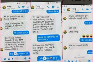 Thầy giáo trường chuyên Thái Bình thừa nhận nhắn tin 'tình cảm' với nữ sinh lớp 10