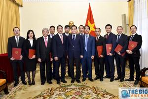 Bộ Ngoại giao trao quyết định bổ nhiệm lãnh đạo các đơn vị